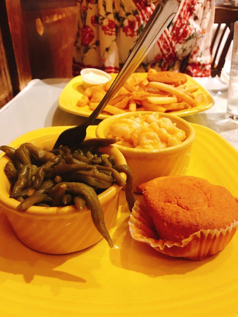 Mama J's dinner food