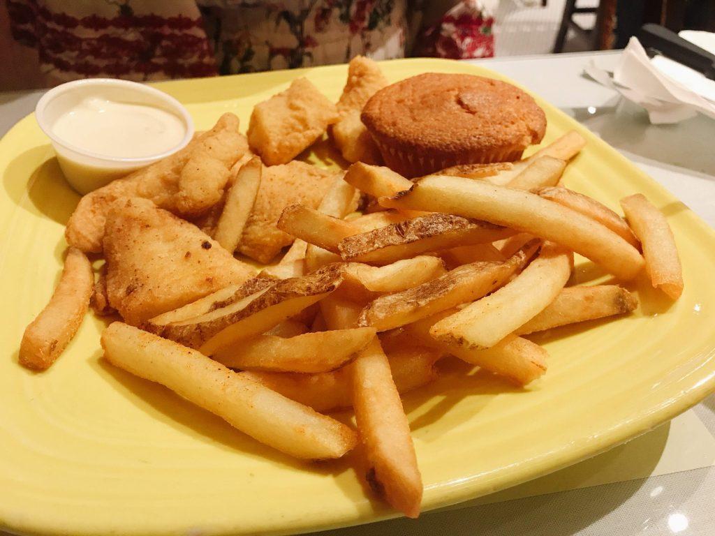 Mama J's Catfish and fries