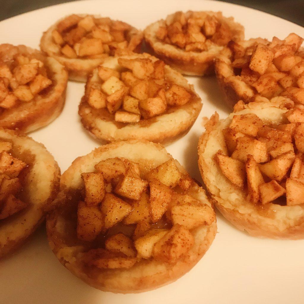 low-calorie apple pie/galette
